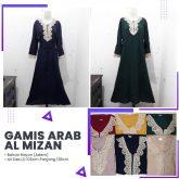 Grosir Gamis Arab Al Mizan Rp. 55.000