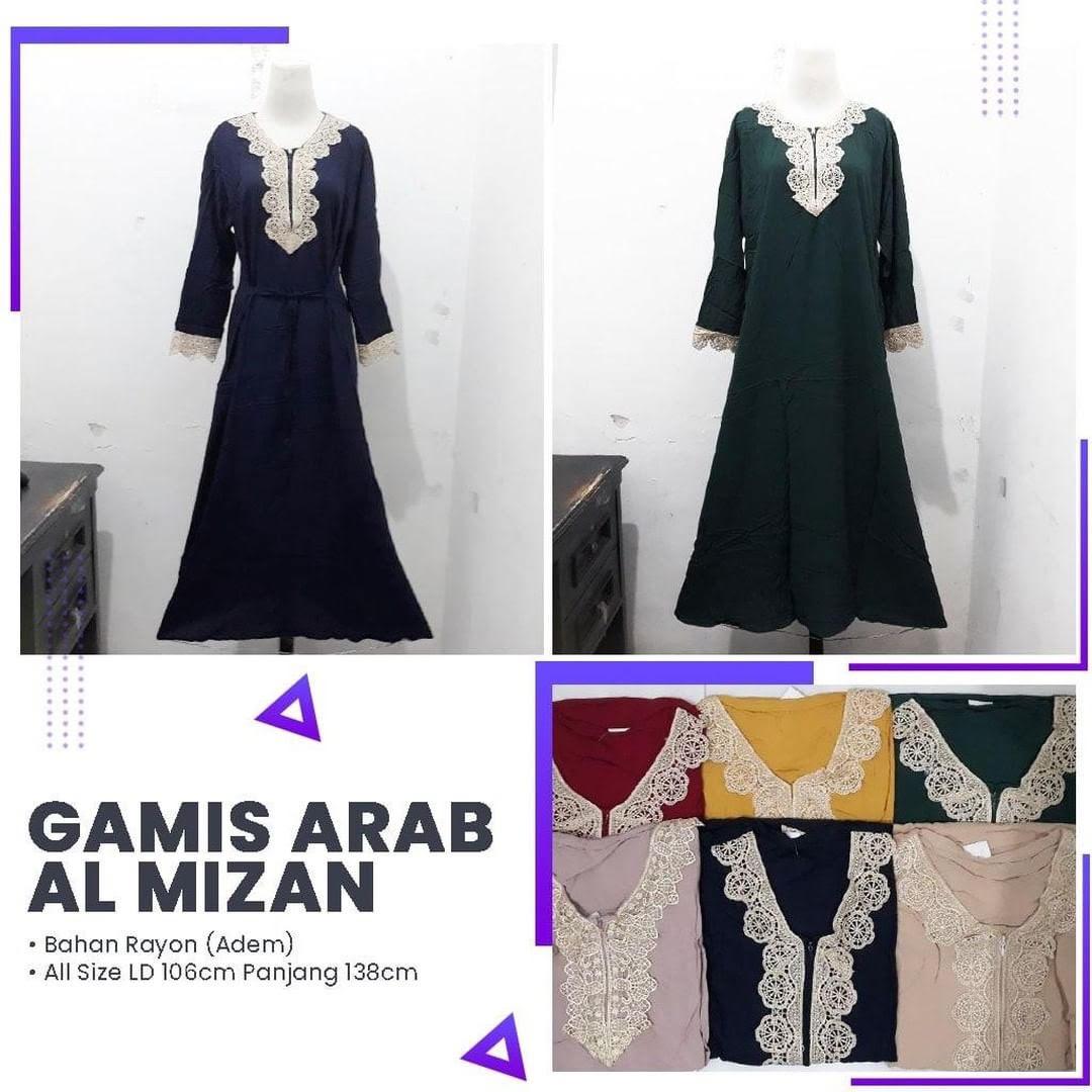 Grosir Gamis Arab Al Mizan