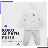 Grosir Koko Al Fath Putih Rp 40.000