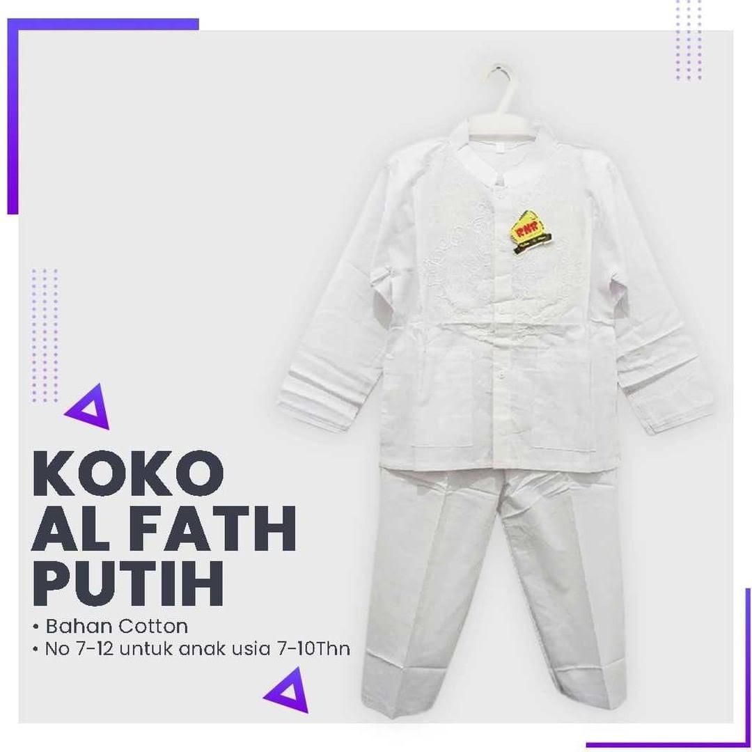 Koko Al Fath Putih