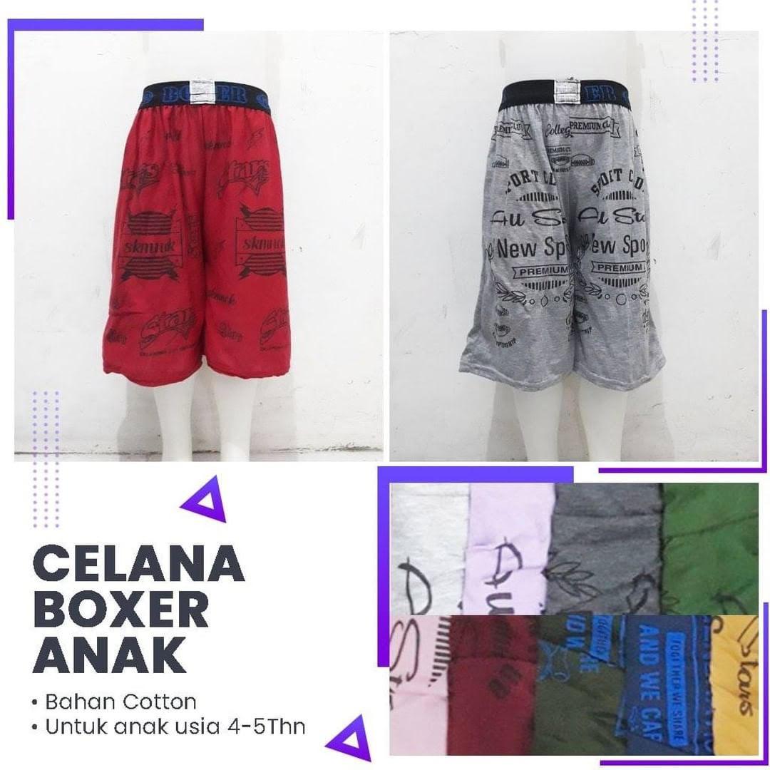 Konveksi Celana Boxer Anak